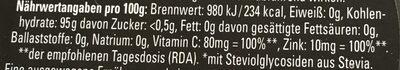 Acti Fresh Drops sunny orange - Nutrition facts