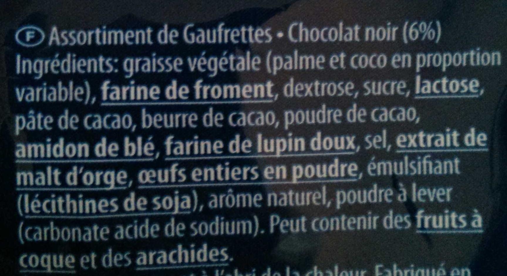 Desiree - Ingredients