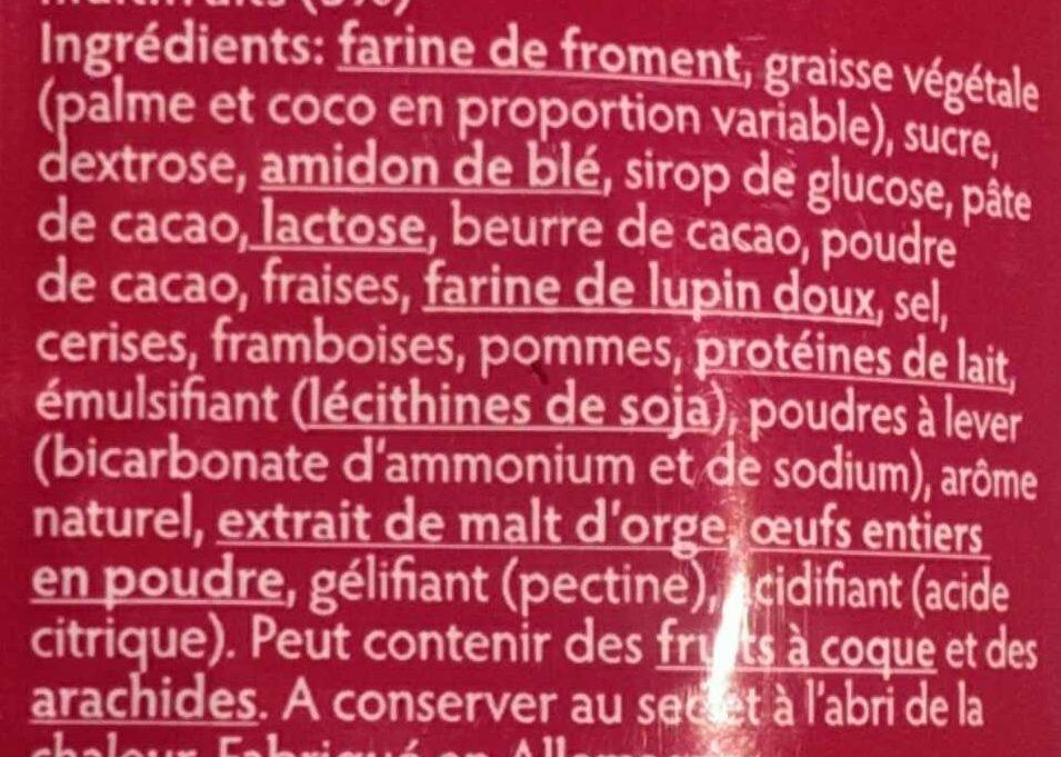 Allegria - Ingredients