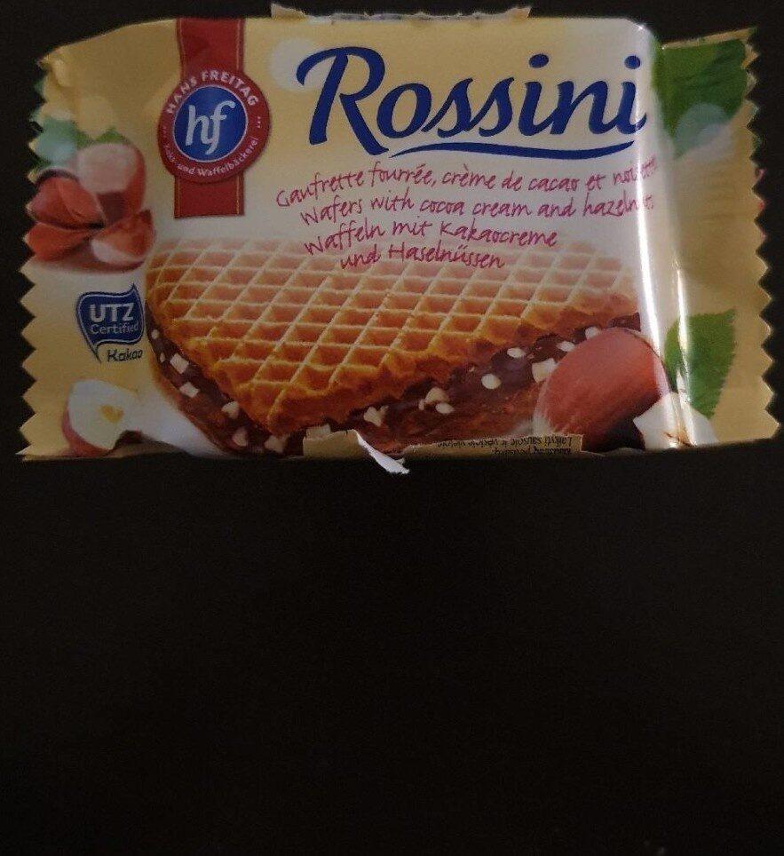 Wafer con crema di cacao e nocciola - Prodotto - it