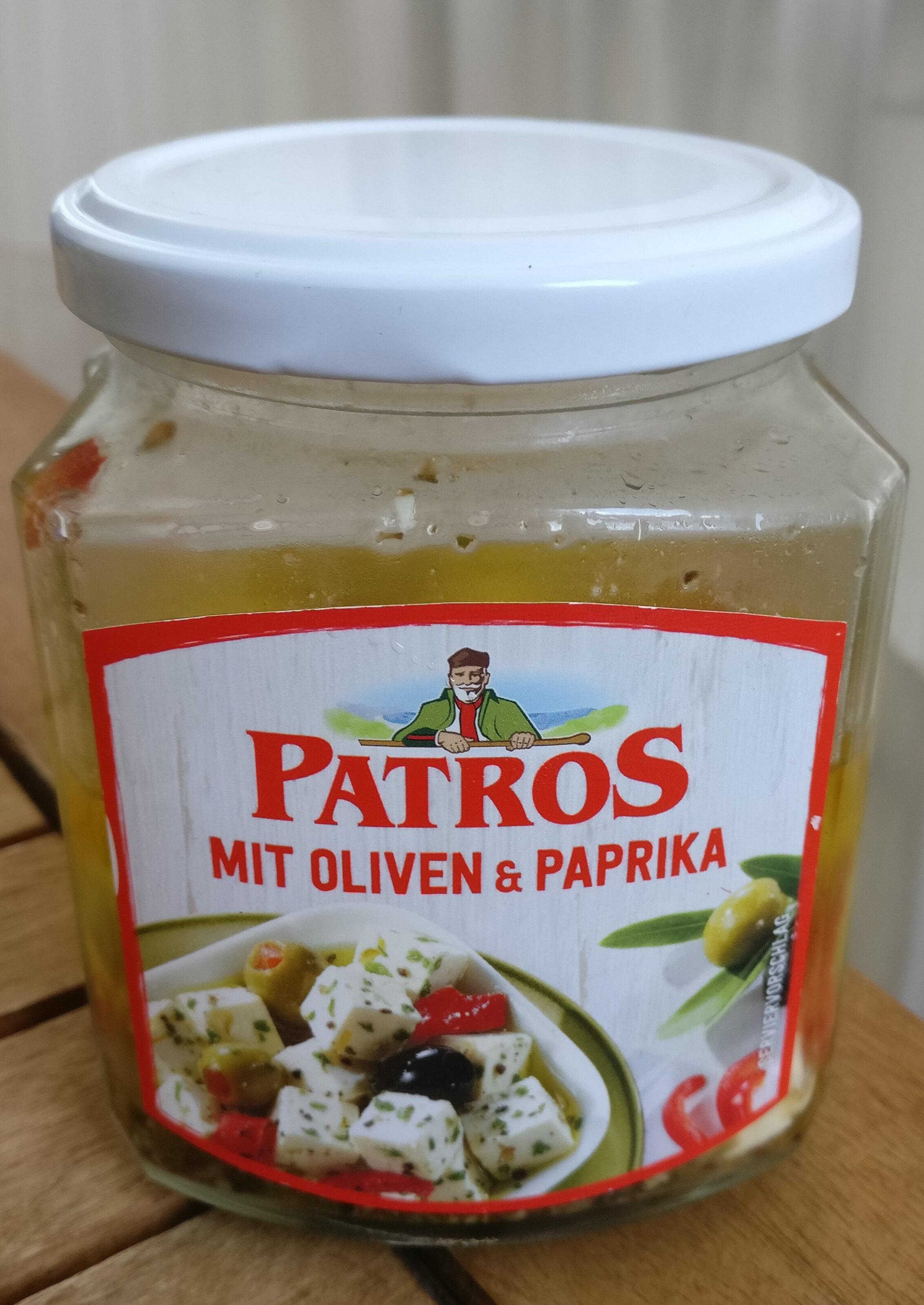 Patros mit Oliven & Paprika - Produit