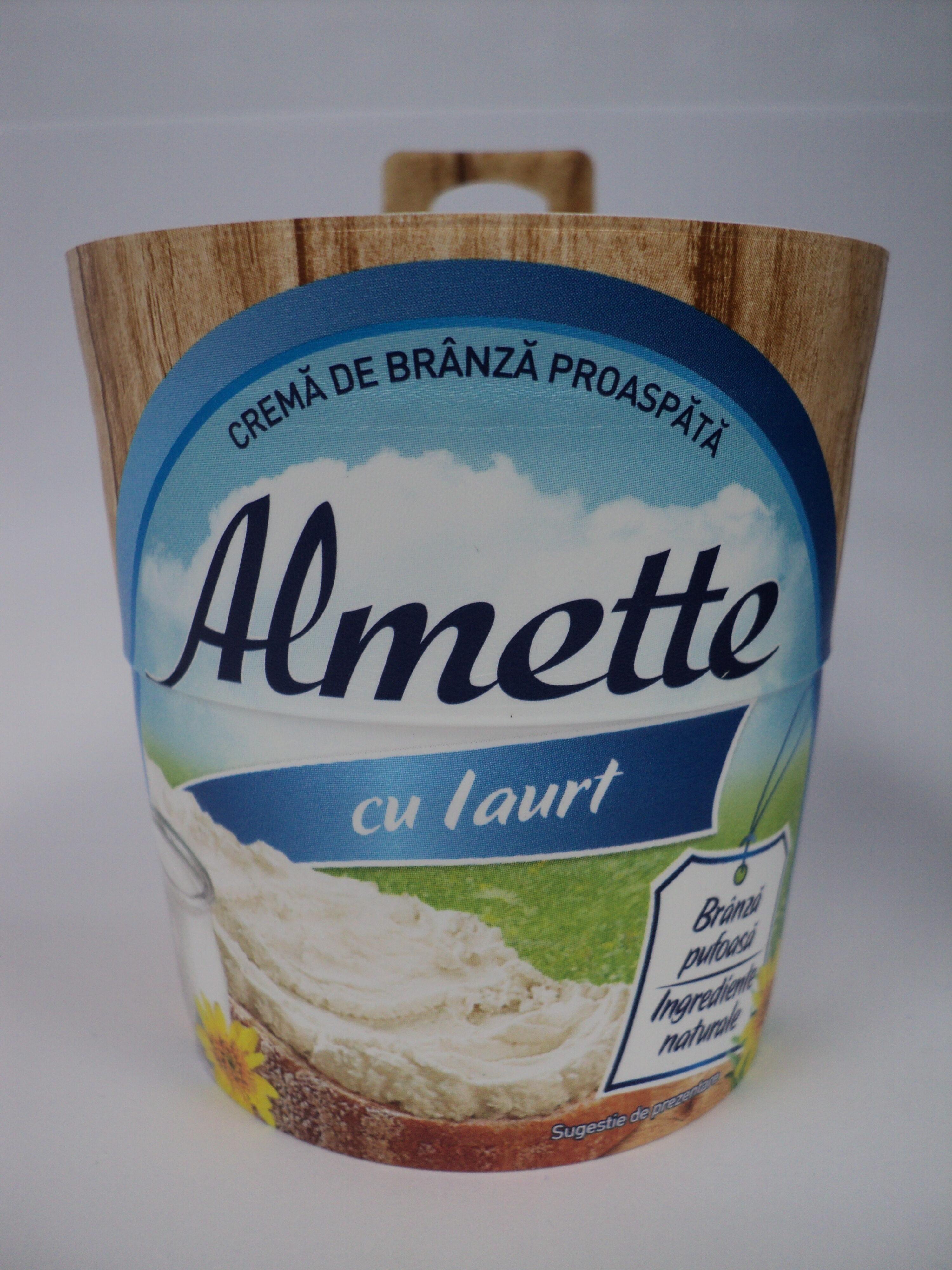 Almette Cremă de brânză proaspătă cu iaurt - Product - ro