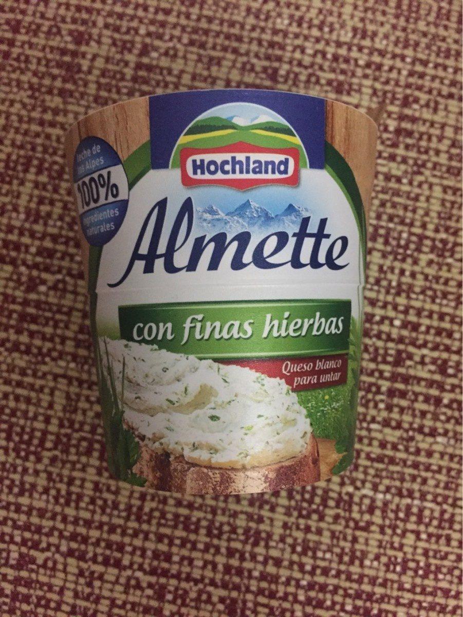 Almette con finas hierbas - Produit - fr