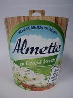 Almette Cremă de brânză proaspătă cu ceapă verde - Product - ro