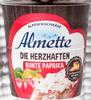 Almette die Herzhaften Bunte Paprika - Produkt
