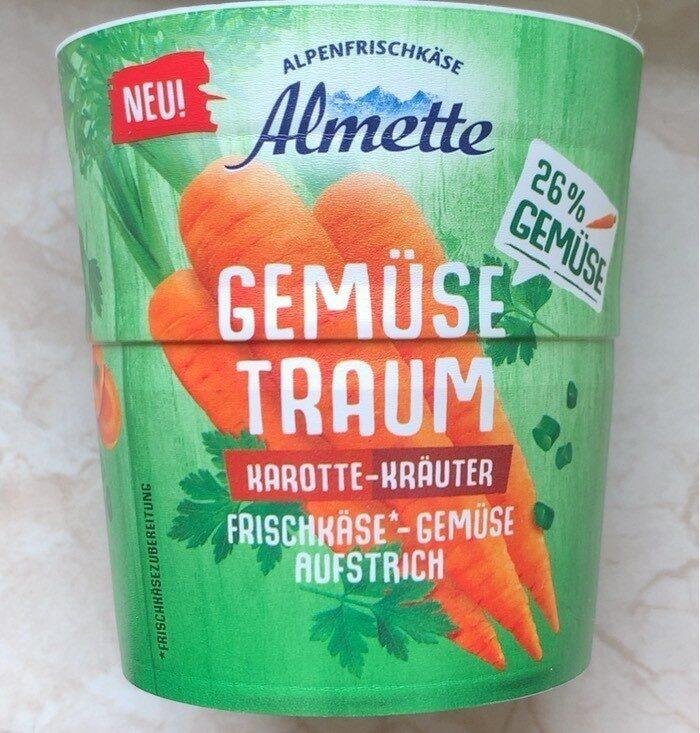 Gemüse Traum Karotte Kräuter Frischkäse - Produkt - de