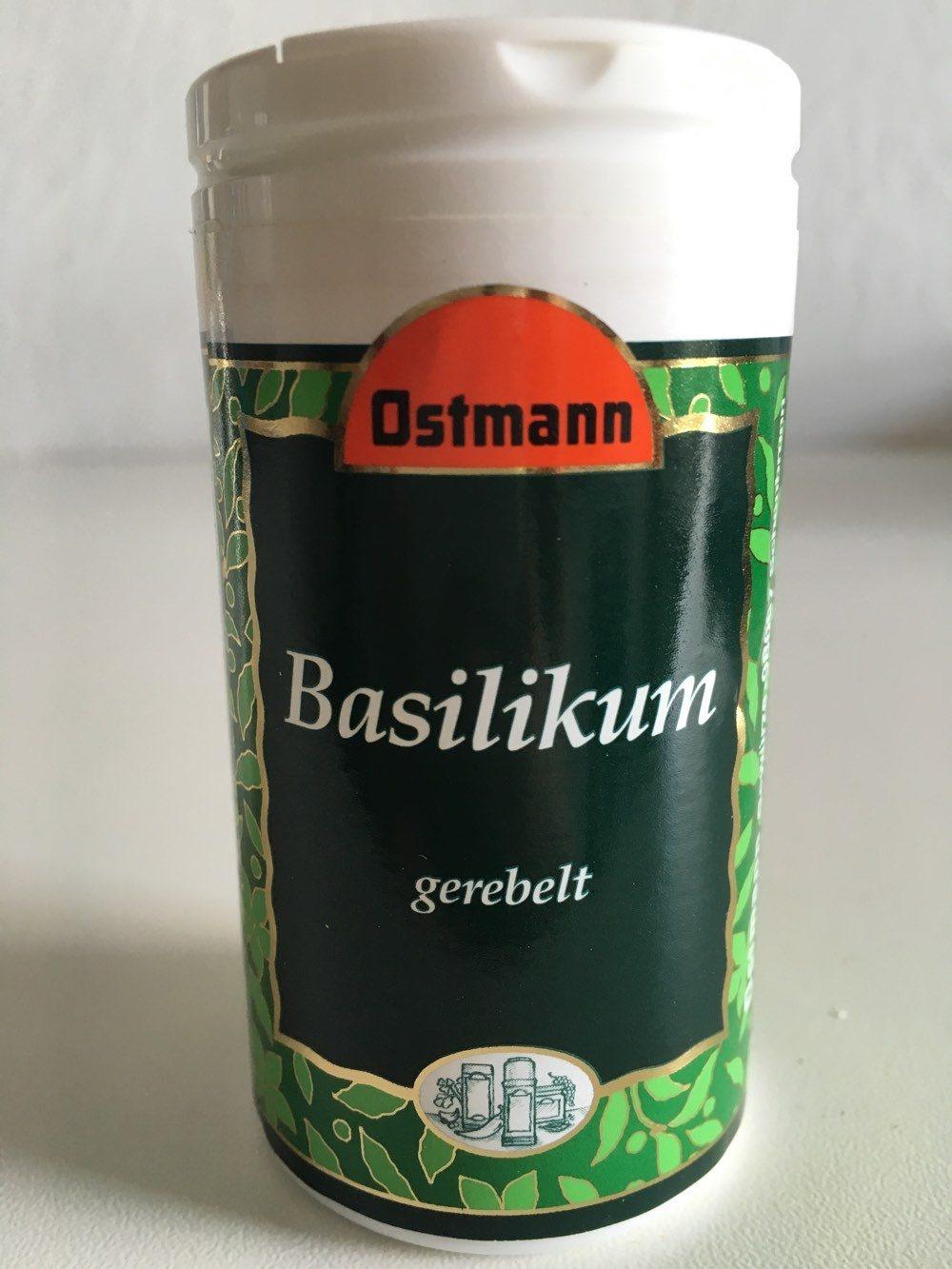Basilikum gerebelt - Product