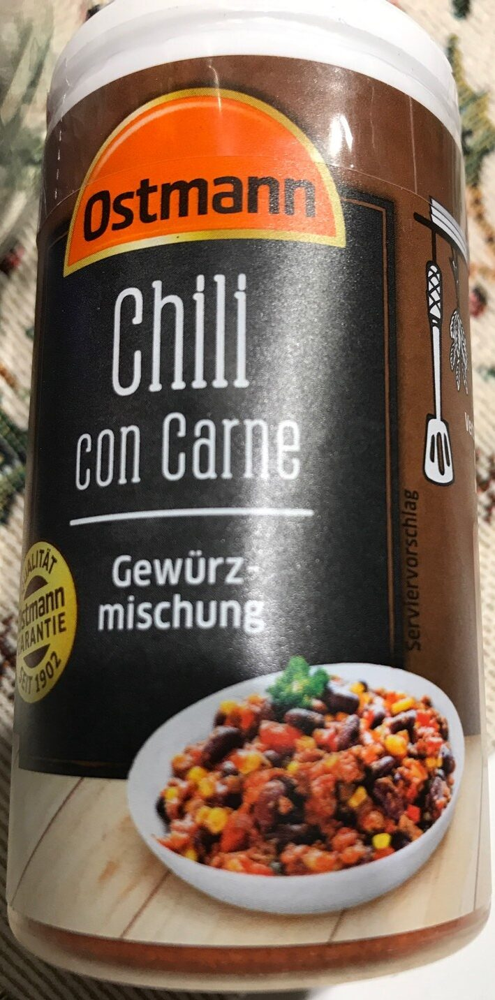 Chili con carne Gewürzmischung - Product