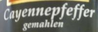 Cayennepfeffer gemahlen - Ingrediënten