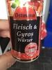 Fleisch & Gyros Würzer - Produit