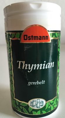 Thymian gerebelt - Product