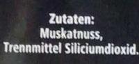 Muskatnuss gemahlen Nachfüllpackung - Ingredients