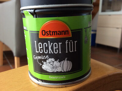 Ostmann lecker für Gemüse - Produit