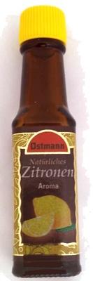Natürliches Zitronen Aroma - Produkt