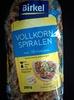 Vollkorn Spiralen - Produit