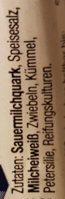 Genuss Mimis Zwiebel und Kümmel - Ingredients - de
