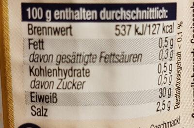 Genuss Mimis Zwiebel und Kümmel - Nutrition facts - de