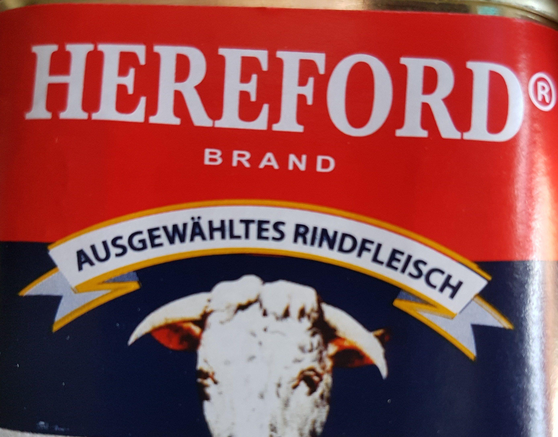 Hereford Corned Beef - Produit