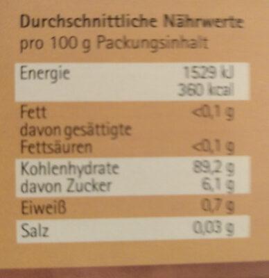 Unser Soßenfix dunkel - Nutrition facts