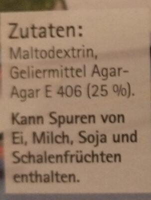 Agartine - Ingredienti - de
