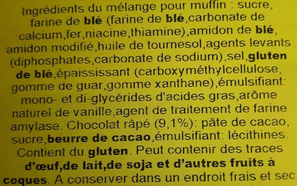 Classic Muffins - Ingrédients - de