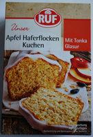 Apfel Haferflocken Kuchen mit Tonka Glasur - Product - de