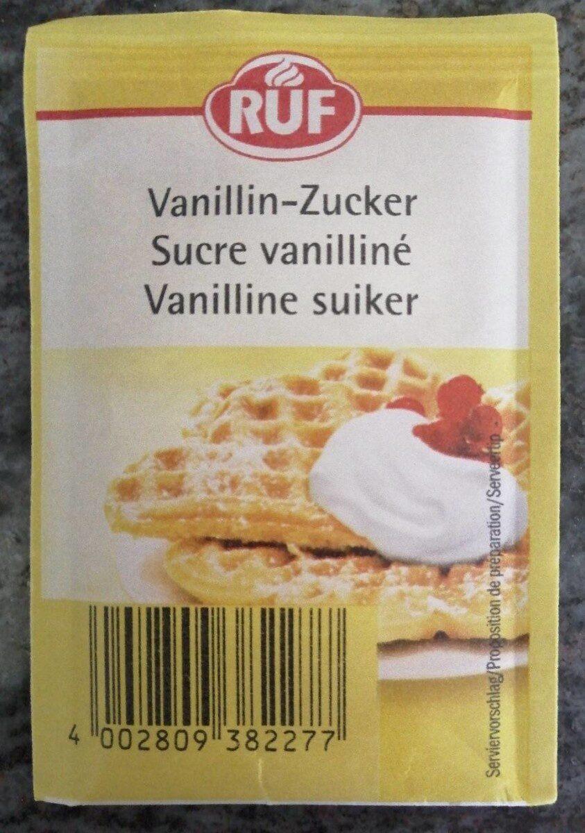 Sucre vanilliné - Product - en