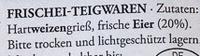 Original Hausmacher Wellenband - Inhaltsstoffe