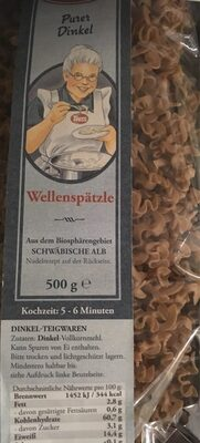 Tress Germany Wellenspatzle - Product