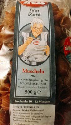 Dinkel Muscheln - Produkt
