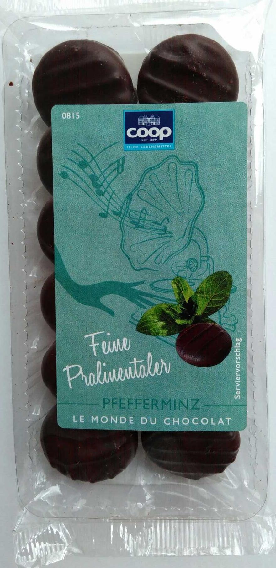 Feine Pralinentaler Pfefferminz - Produit