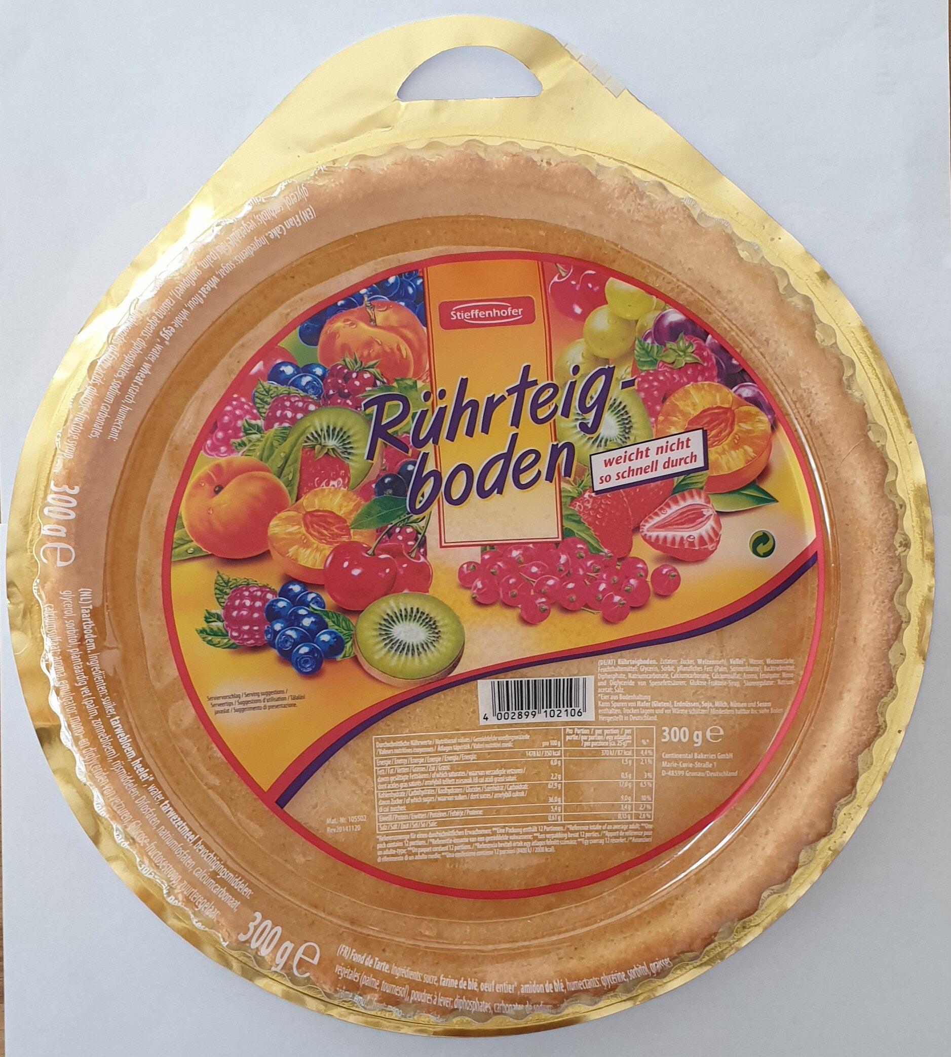 Rührteigboden - Produit - de