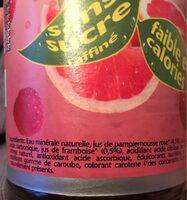 Tönissteiner Pink Fit - Ingrédients