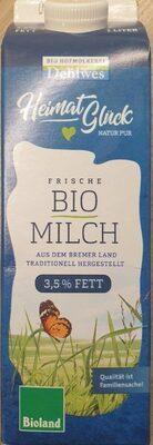 Frische Bio Milch - Product - de