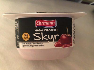High protein skyr cherry - Produit - es