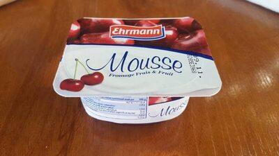 Mousse Fromage Frais & Fruit - Nutrition facts