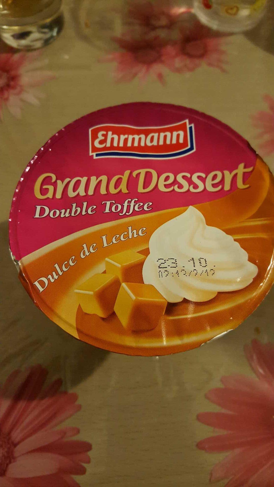 Grand Dessert Double Toffee Dulce de Leche - Produit - fr