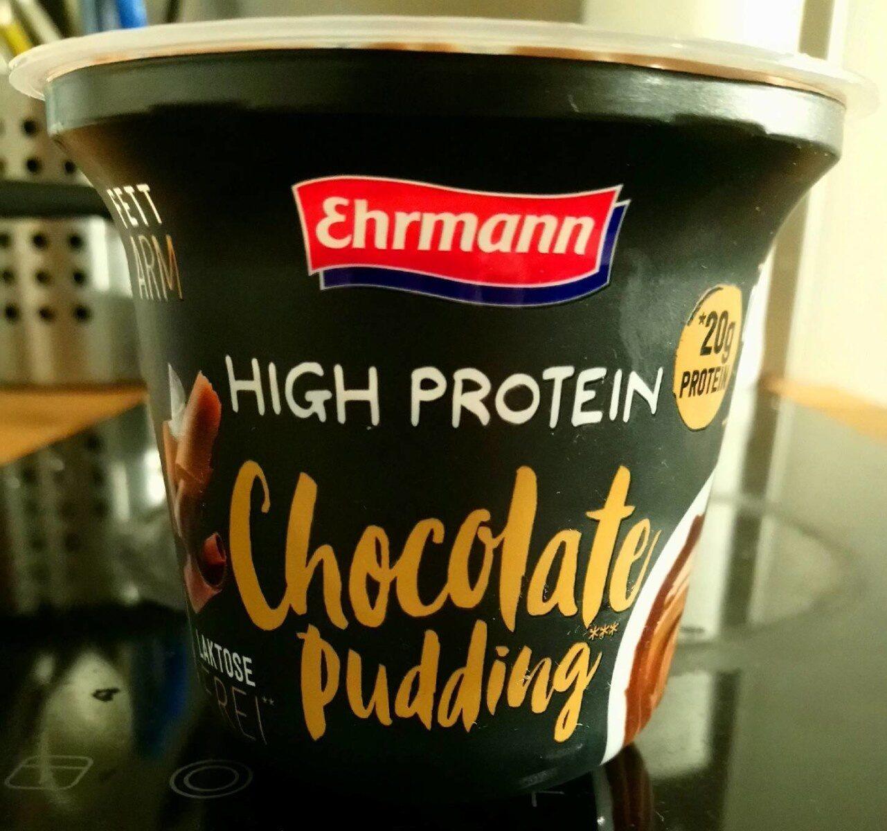 High Protein Chocolate pudding - Produkt - de