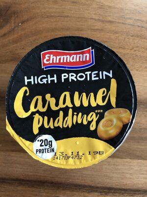 High Protein Caramel Pudding - Product