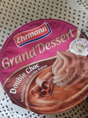 Grand Dessert Double Choc - Produit