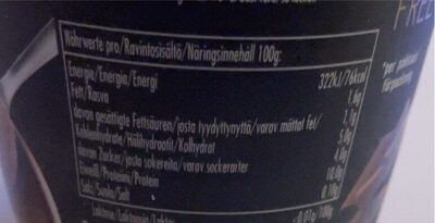 Ehrmann High Protein Chocolate Mousse - Nährwertangaben - de