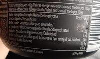 High protein chocolate pudding - Información nutricional - es