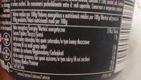 High Protein Caramel Pudding - Informação nutricional - pt