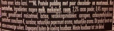 Ehrmann High Protein DarkChoc & Mint pudding - Ingrediënten - nl