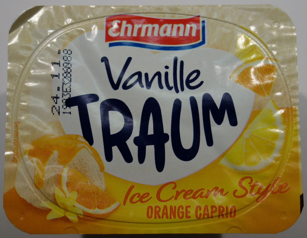 Vanille Traum Ice Cream Style Orange Caprio - Produkt - de