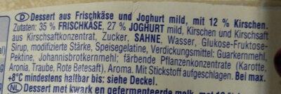 Feiner Rham-Joghurt - Ingrediënten - de