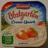 Obstgarten Creme Quark Erdbeere - Produkt