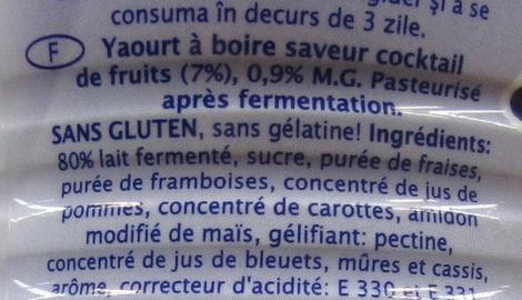 Yogurt drink - Ingrediënten