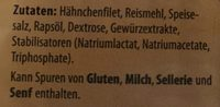 Hähnchen-Filetstreifen - Ingredients