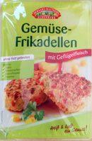Gemüsefrikadellen mit Geflügelfleisch - Product